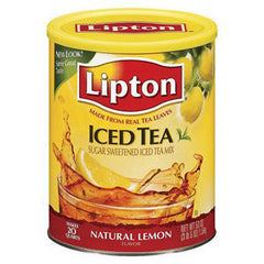 LIPTON ICED TEA MIX WITH LEMON
