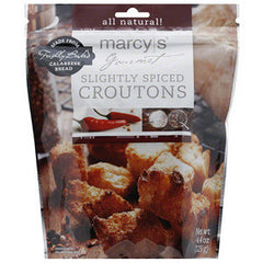 MARCY'S GOURMET SLIGHTLY SPICED CROUTONS