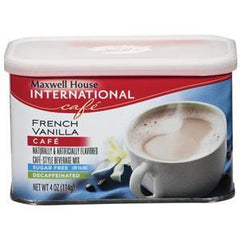 MAXWELL HOUSE FRENCH VANILLA CAFE