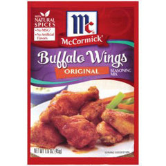 MCCORMICK BUFFALO WING ORIGINAL BAKING MIX