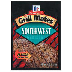 MCCORMICK GRILL MATES MARINADE SOUTHWEST