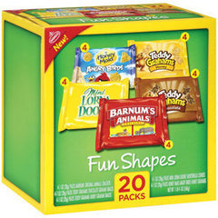 NABISCO FUN SHAPES 20 PACK