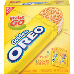 NABISCO GRAB & GO GOLDEN OREO - COOKIES
