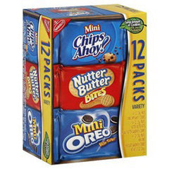 NABISCO MINI VARIETY MUNCH 12 PACK