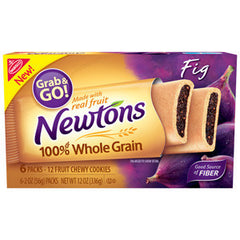 NABISCO NEWTONS FIG GRAB AND GO - CHEWY COOKIES