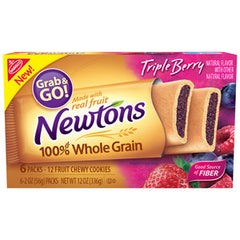 NABISCO NEWTONS TRIPLE BERRY - GRAB & GO CHEWY COOKIES