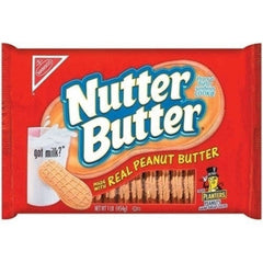 NABISCO NUTTER BUTTER CREME PATTIES - CRISPY WAFER