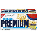 NABISCO PREMIUM CRACKERS UNSALTED TOPS