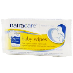 NATRACARE ORGANIC COTTON BABY WIPES SOFT & STRONG