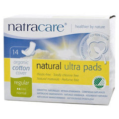 NATRACARE ULTRA PADS REGULAR MAXI