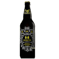 STONE R&R COCONUT INDIA PALE ALE BEER - SINGLE BOTTLE