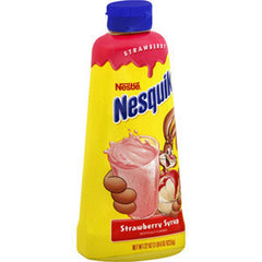 NESQUIK STRAWBERRY SYRUP