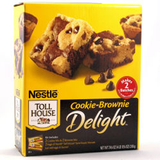 NESTLE TOLL HOUSE DELIGHT COOKIE- BROWNIE