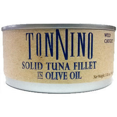 TONNINO SOLID TUNA FILLET IN OLIVE OIL