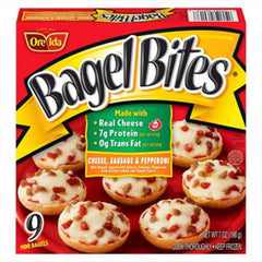 ORE-IDA BAGEL BITES CHEESE & PEPPERONI