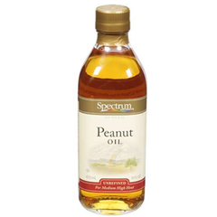 SPECTRUM PEANUT OIL UNREFINED