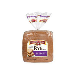 PEPPERIDGE FARM SEEDLESS RYE BREAD