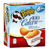 PRINGLES REDUCED FAT 100 CALORIE PACKS - 8 PACK