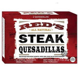 RED'S ALL NATURAL STEAK QUESADILLA