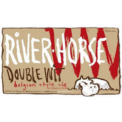 RIVER HORSE DOUBLE WIT BEER