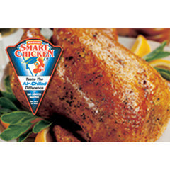 ROASTED CHICKEN - SMART CHICKEN NO ADDED WATER WITOUT ANTIBIOTIC - ROTISSERIE WHOLE BIRD