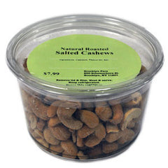 BROOKLYN FARE ORGANIC ROASTED SALTED CASHEWS