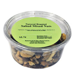 BROOKLYN FARE NATURAL ROASTED SALTED MIXED NUTS