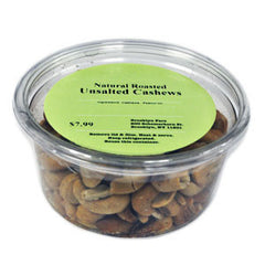 BROOKLYN FARE NATURAL ROASTED UNSALTED CASHEWS