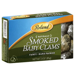 ROLAND SMOKED BABY CLAMS