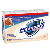 SAFEGUARD ANTIBACTERIAL BAR SOAP 4 PACK