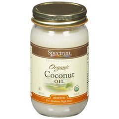 SPECTRUM ORGANIC COCONUT OIL - REFINED