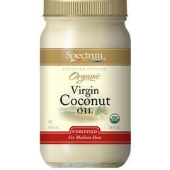 SPECTRUM ORGANIC VIRGIN COCONUT OIL - UNREFINED