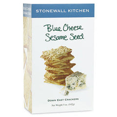 STONEWALL KITCHEN BLUE CHEESE SESAME SEED CRACKERS