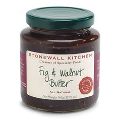 STONEWALL KITCHEN FIG & WALNUT BUTTER