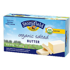 STONYFIELD ORGANIC SALTED BUTTER