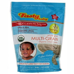 TASTY BABY WHOLE GRAIN MULTI-GRAIN ORGANIC INFANT CEREAL