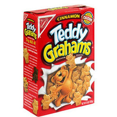 NABISCO TEDDY GRAHAMS APPLE