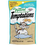 WHISKAS TEMPTATIONS YELLOW FIN TUNA FLAVOR