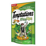 TEMPTATIONS MIX UPS CATNIP FEVER CHICKEN  CATNIP & CHEDDAR FLAVORS