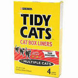 TIDY CAT BOX LINERS MULTIPLE CATS