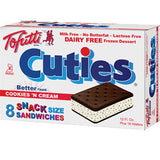 TOFUTTI COOKIES & CREAM SANDWICHES