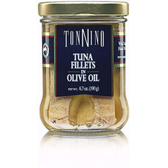 TONNINO TUNA FILLETS IN OLIVE OIL WITH OREGANO
