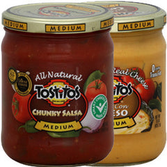 TOSTITOS HOT CHUNKY SALSA