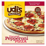 UDI'S UNCURED  GLUTEN FREE PEPPERONI PIZZA