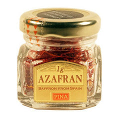 PINA AZAFRAN - SAFFRON FROM SPAIN FIRST GRADE DEHYDRITED