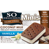 SO DELICIOUS COCONUT MILK VANILLA MINIS SANDWICH