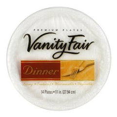 VANITY FAIR 11 INCHES PLATE