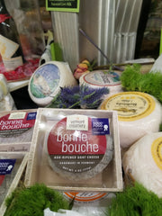VERMONT CREAMERY BONNE BOUCHE ASH-RIPENED GOAT CHEESE