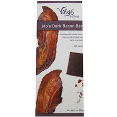 VOSGES MO'S DARK BACON CHOCOLATE BAR