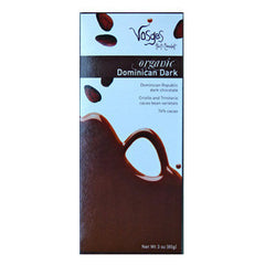 VOSGES ORGANIC DOMINICAN MILK CHOCOLATE